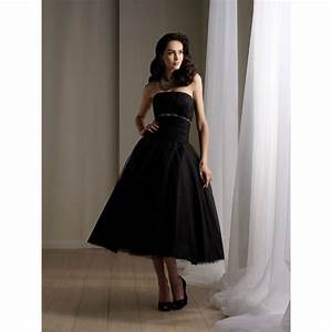 black strapless beaded short wedding dresses sheplanet With short black wedding dresses