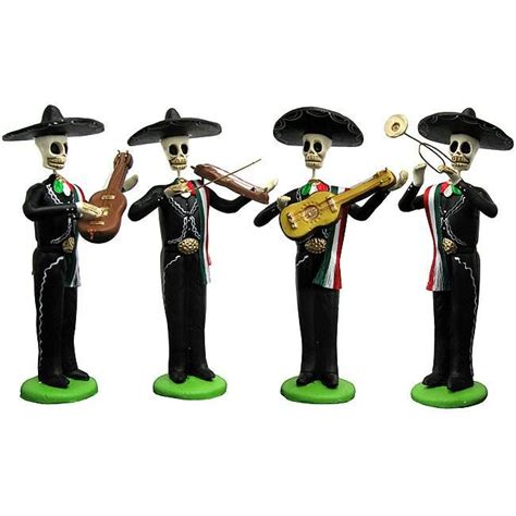 Day of the Dead Figures Collection - Four-Man Mariachi ...