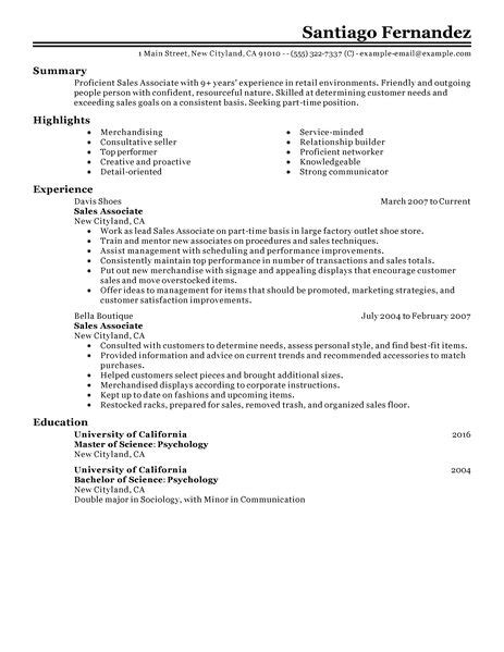 how to write a resume for part time 5 basic exles