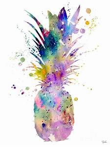 Pineapple Watercolor Painting | www.pixshark.com - Images ...