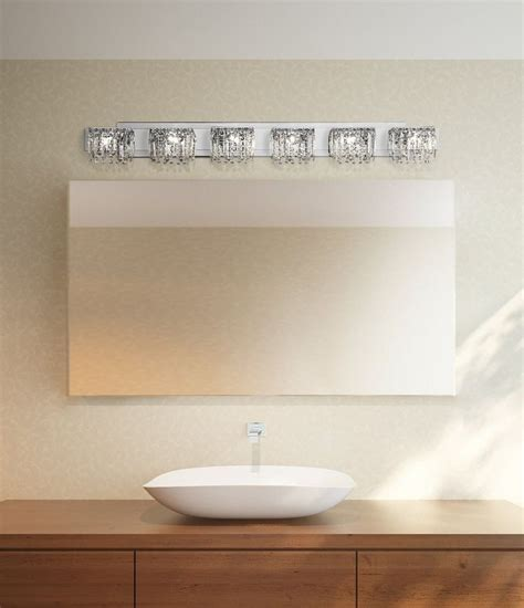 possini euro design hanging crystal   wide bath
