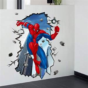 Online buy wholesale wallpaper films from china wallpaper for Kitchen cabinets lowes with marvel superhero wall art