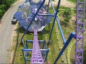 Bizarro Front Seat on-ride POV Six Flags New England - YouTube