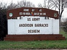 Anderson Barracks, Dexheim Germany