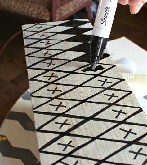 how to get sharpie off wood table sharpie designs on furniture harlequin pattern