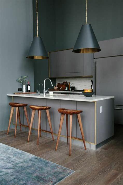 lustres de cuisine la cuisine grise plutôt oui ou plutôt non