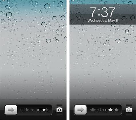 hide  status bar   lock screen