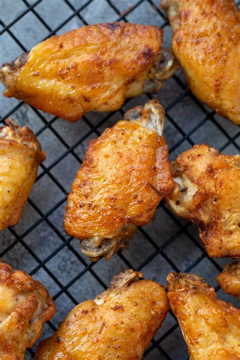 wings fryer chicken air easy recipes momsdish cook wing crispy baked dinner fried recipe fry frozen cooking deep sweet