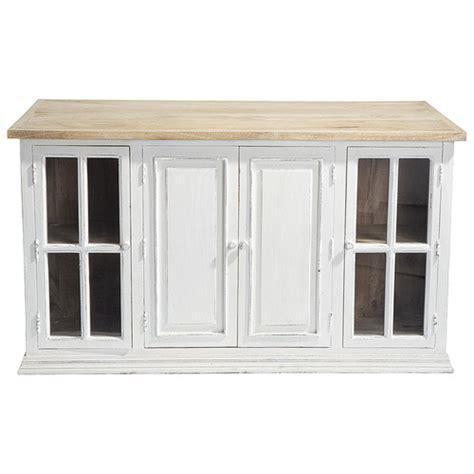 ilot cuisine maison du monde ilot central bois blanchi maison du monde lysa gateau