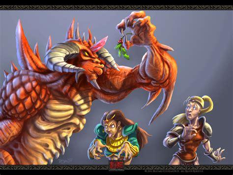 oboi diablo ii vselennaya warcraft dota allstars world