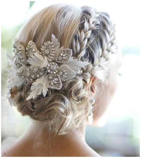 gorgeous wedding hairstyles with accessories fashionsy