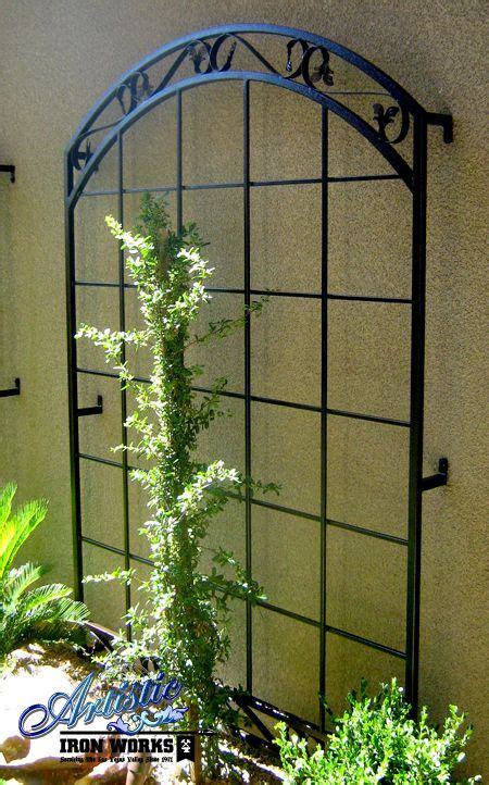 25 best ideas about iron trellis on metal