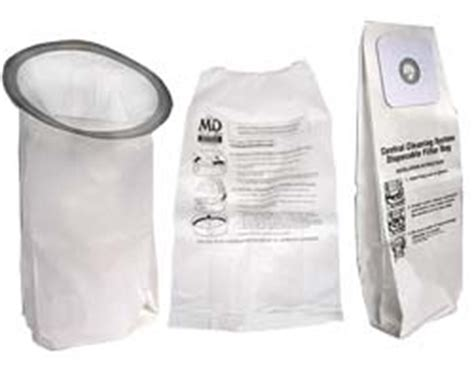 built in vent central vacuum bags and filters for most central vacuum
