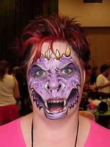 Dragon face painting | Face Paint & Fantasy Makeup ...