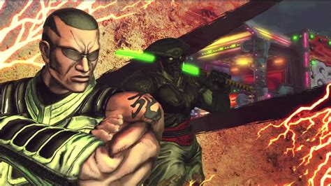 Street Fighter X Tekken Arcade Mode Yoshimitsu And Raven