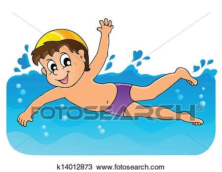 foto de Swimming theme image 3 Clipart k14012873 Fotosearch