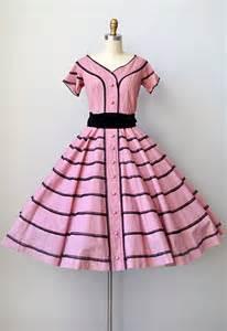 Vintage 1950s Full Skirt Dress