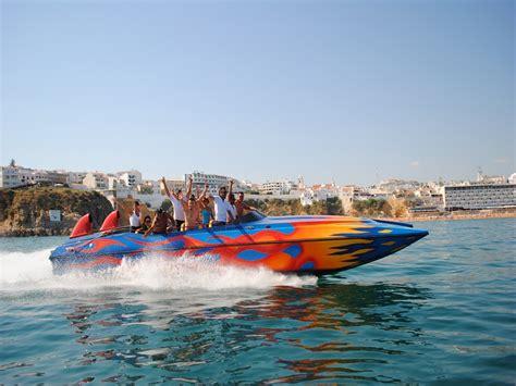 Rocket Boat by Albufeira Rocket Boat Ride Experitour