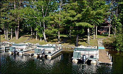Party Boat Rentals Wisconsin by Wisconsin Resort Rentals Hayward Wisconsin Cabin