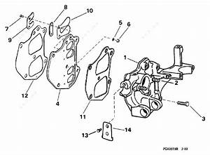 Johnson 1998 9 90 - J10recc  Intake Manifold