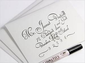 addressing wedding envelopes calligraphy or printing With printing wedding invitation envelopes etiquette