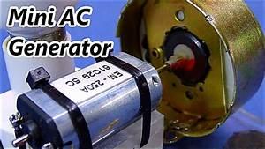 Dc Motor To Ac Generator