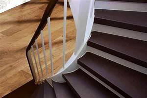 Treppe Renovieren Pvc : holz treppenstufen schleifen und lackieren ~ Markanthonyermac.com Haus und Dekorationen