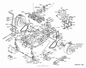 Dixon Ztr 424  1986  Parts Diagram For Chassis Assembly