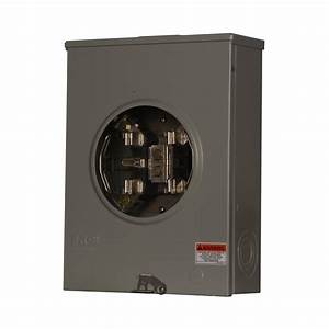 Ge 200 Amp 20 Space 40 Circuit Outdoor Combination Main