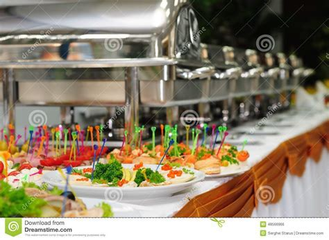 Catering wedding stock photo. Image of plate, gourmet