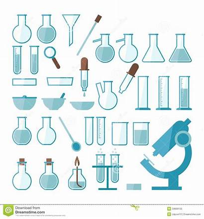 Laboratory Equipment Clipart Lab Experiments Science Vector