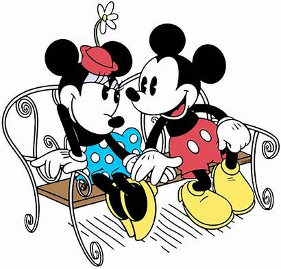 Mickey Classic Minnie Clip Friends Mouse Disney