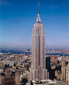 New york sights for How many floors the empire state building have