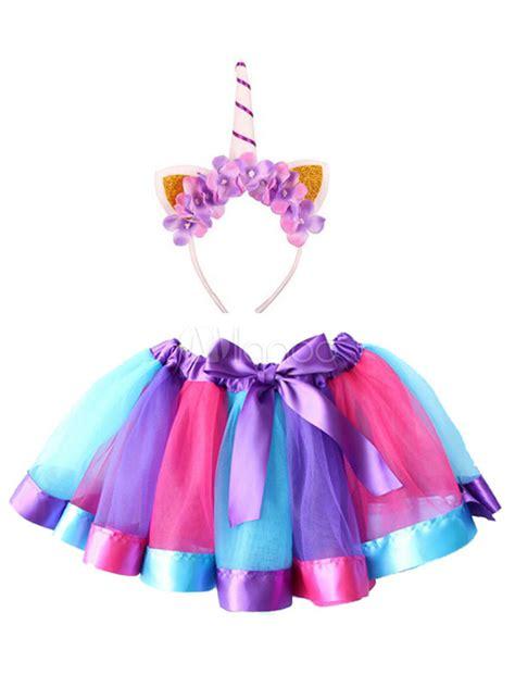 Disfraz de Halloween de unicornio para niña Disfraz de