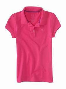 aeropostale kids ps girls' solid pique polo shirt | eBay