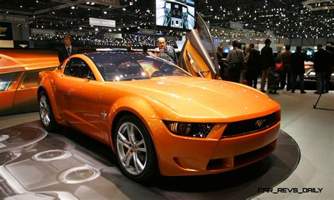 2006 Ford Mustang Giugiaro Concept Related Infomation