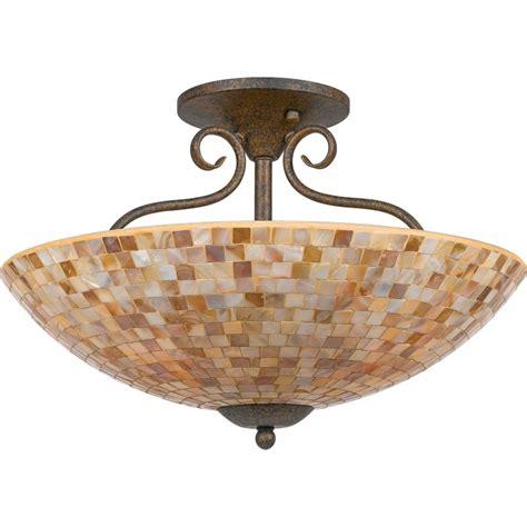 quoizel my1718ml malaga monterey mosaic 4 light 18 quot wide