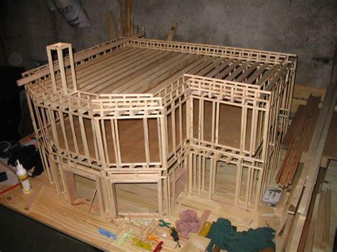 maquette maison en bois maquette de maison en bois l impression 3d