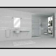 Large White Bathroom Tiles Ideas  Youtube