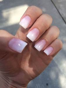 Nail Designs Dip Powder Nails By Hana Pink And White Ombre Sns Yelp Pinteres