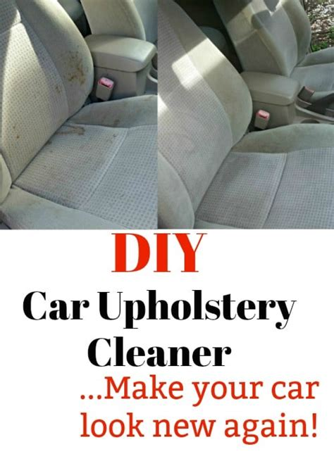 Where Can I Get My Car Upholstery Cleaned by Diy Car Upholstery Cleaner Make Your Interior Look Brand New