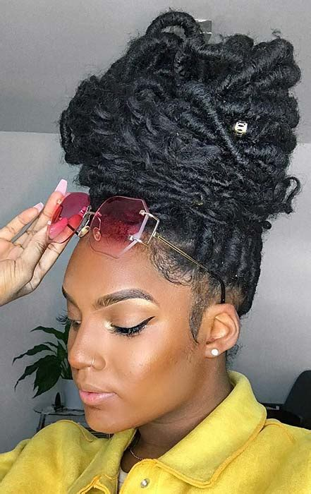 chic ways  wear  style curly faux locs page