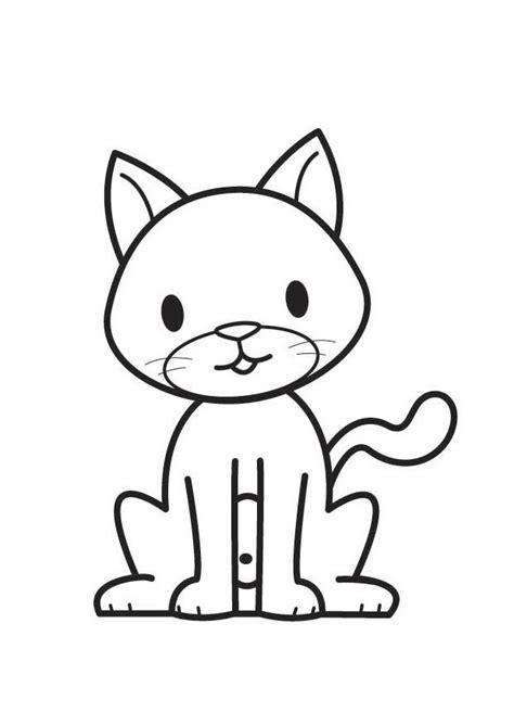 disegno da colorare gatto cat  images