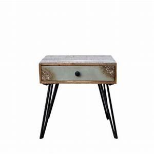 Table De Chevet Design : table d 39 appoint design et scandinave gu ridons drawer ~ Teatrodelosmanantiales.com Idées de Décoration