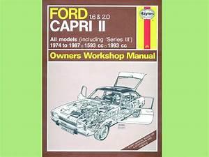 Haynes Workshop Manual  1 6    2 0 Pinto