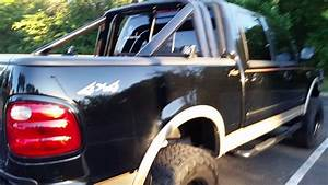 2001 Lifted Black F150 Supercrew Lariat