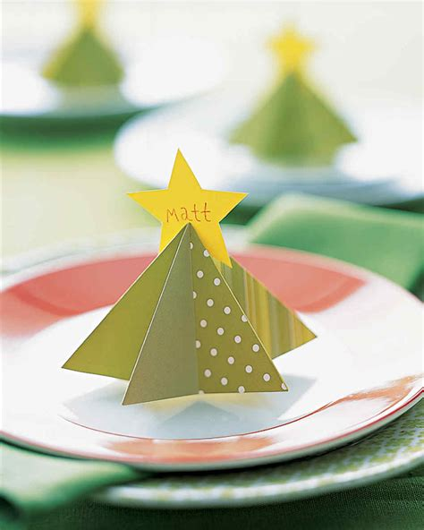 Outdoor Halloween Decorations Diy by Holiday Place Cards Martha Stewart