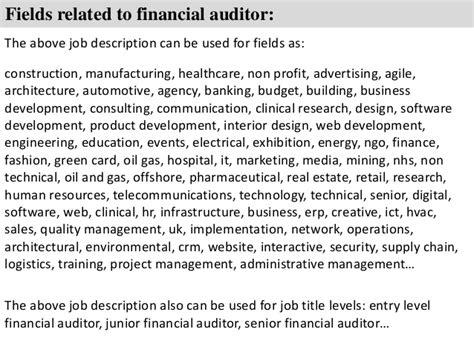 Auditor Sample Resume - Costumepartyrun
