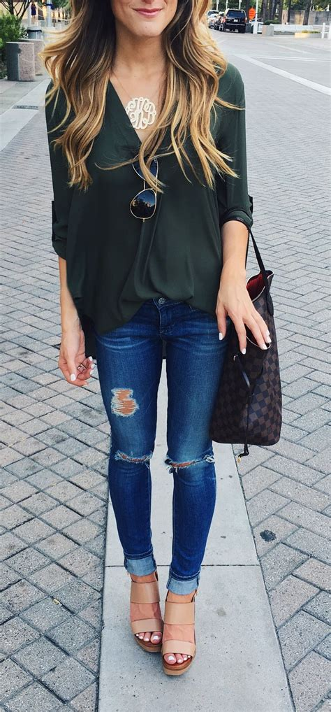 Best 25+ Wedges outfit ideas on Pinterest | Fall wedges Jeans and wedges and Red plaid shirts