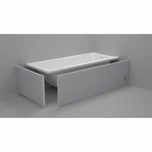 Habillage De Baignoire : habillage baignoire panodur lazer 1 piece s achat vente baignoire kit balneo ~ Dode.kayakingforconservation.com Idées de Décoration